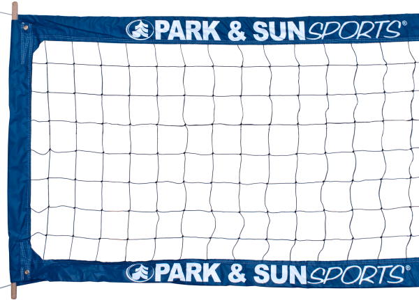 Park & Sun Logo Outdoor Volleybal Net BC-400-PRO-XL