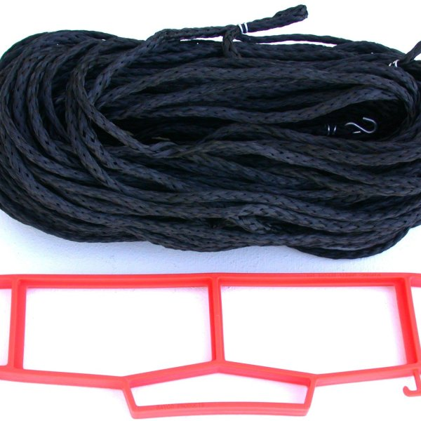 Rope Grass or Sand Court Boundary Lines Black