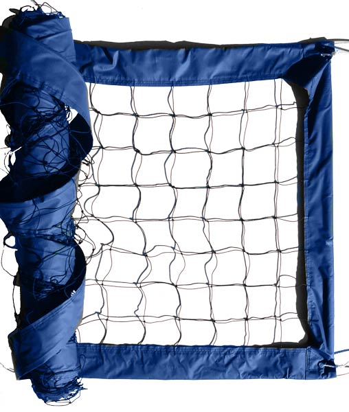 Blue Advanced Outdoor Volleyball Net