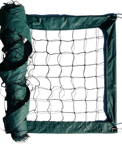 Dark Green Advanced Outdoor Volleyball Net