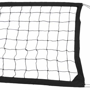 Black Intermediate Outdoor Volleyball Net