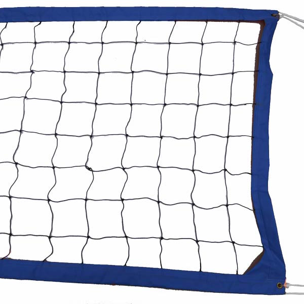 Blue Intermediate Outdoor Volleyball Net