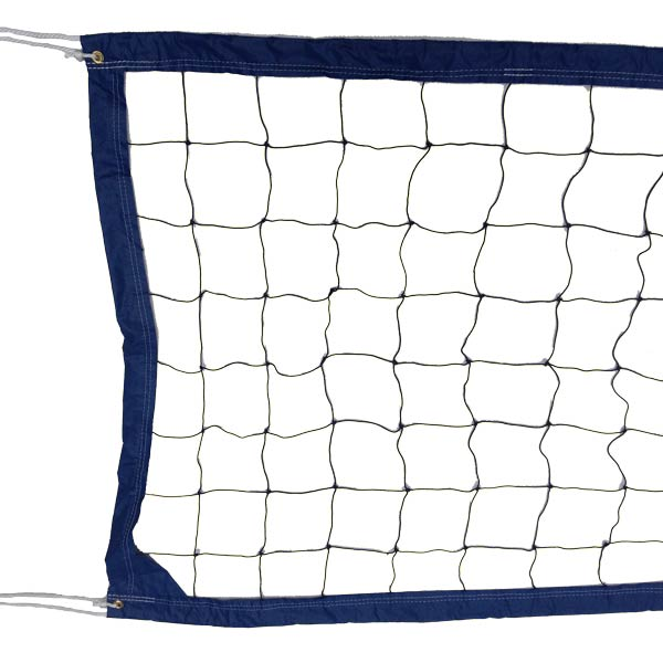Blue Pool Volleyball Net