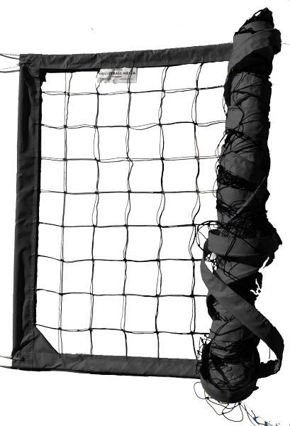 Black Power Outdoor Volleyball Net
