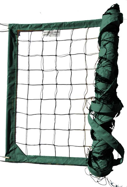 Dark Green Power Outdoor Volleyball Net