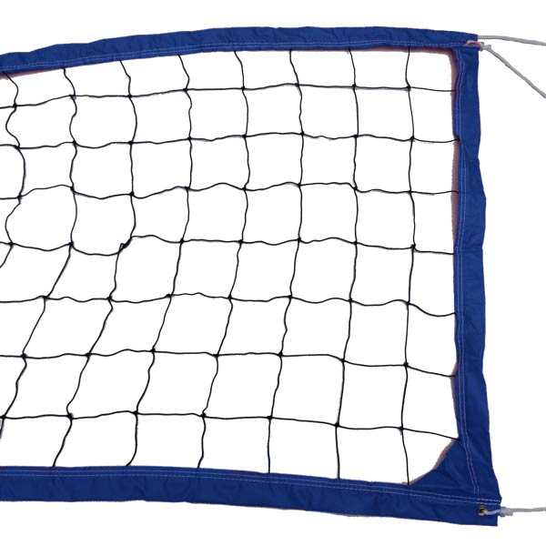 Blue Outdoor Recreational Volleyball Net