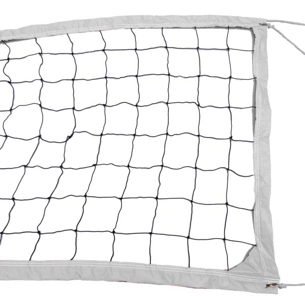 White Outdoor Recreational Volleyball Net