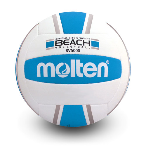 BV-5000-SB Elite Beach Volleyball- Silver Blue