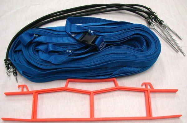 Beach Volleyball 1 Inch Webbing Court Boundary Line Blue
