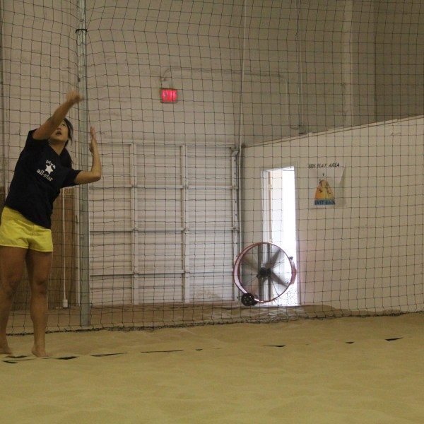 Volleyball Court Perimeter Netting
