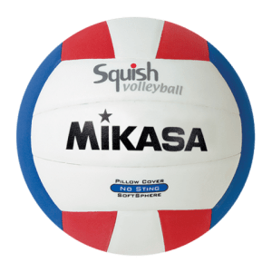 Mikasa Squish VSV101 Red White Blue Pool Volleyball