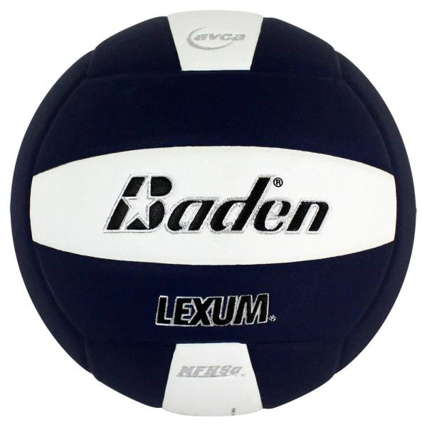 Baden Lexum Microfiber Volleyball Navy White