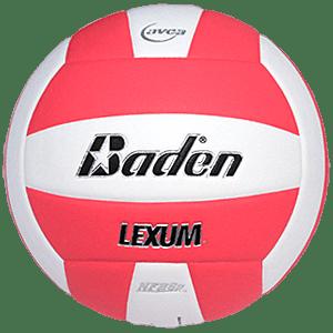 Baden Lexum Microfiber Volleyball Neon Pink White