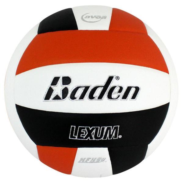 Baden Lexum Microfiber Volleyball Orange White Black