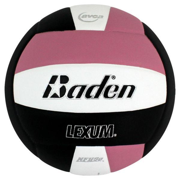 Baden Lexum Microfiber Volleyball Pink White Black