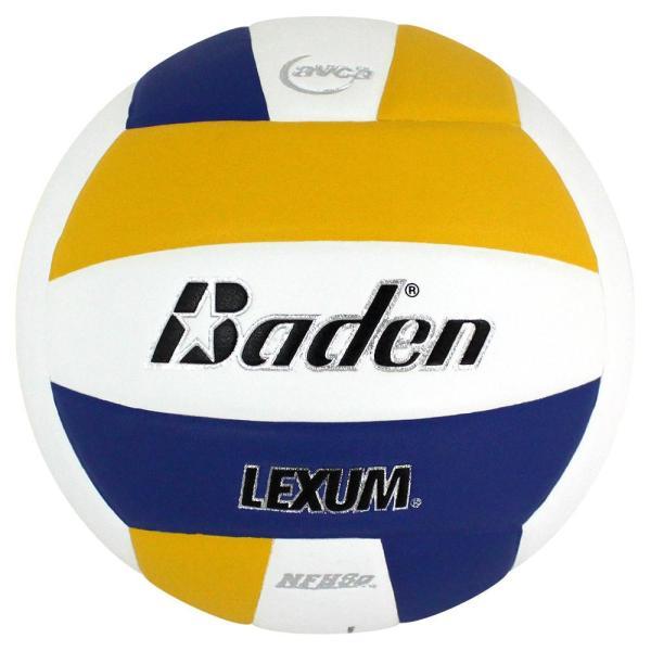 Baden Lexum Microfiber Volleyball Royal White Yellow