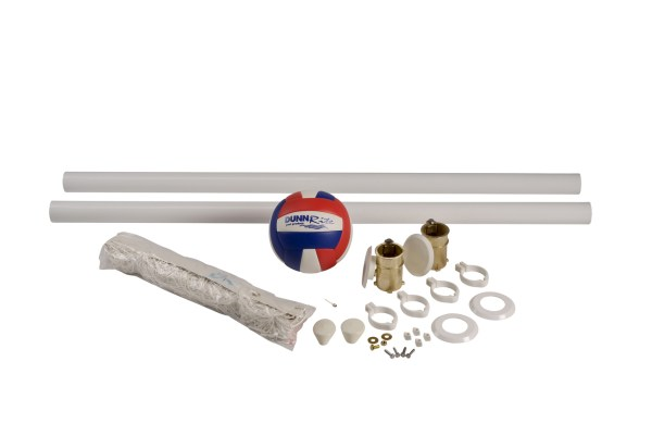 In Deck Residential Pool Volleyball Set Parts
