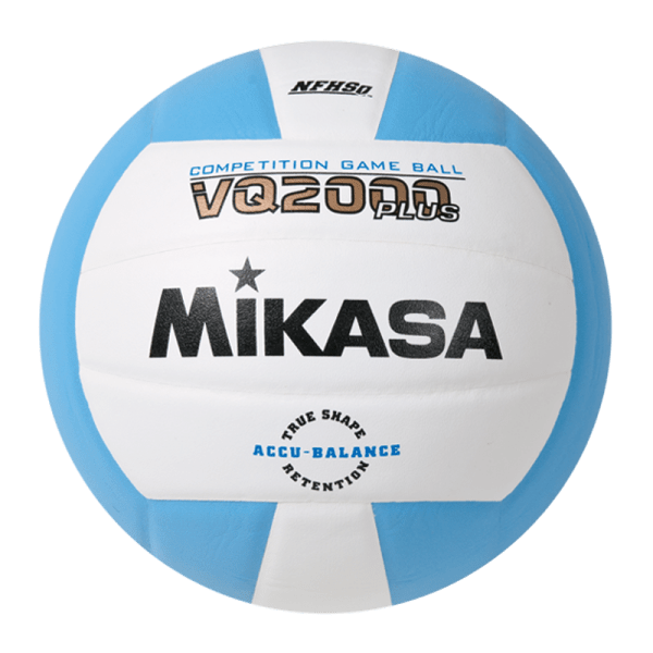 Mikasa Competition Micro-cell Game Ball Light Blue White