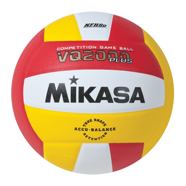 Mikasa Competition Micro-cell Game Ball Red White Yellow