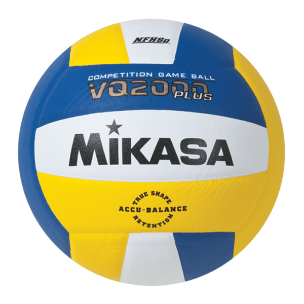 Mikasa Competition Micro-cell Game Ball Royal White Yellow