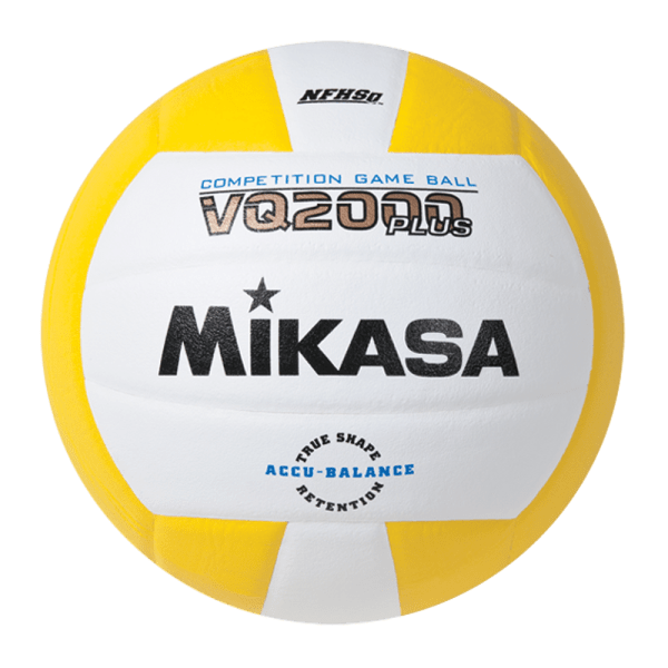 Mikasa Competition Micro-cell Game Ball Yellow White