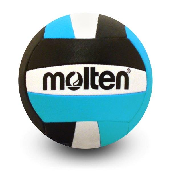 Molten Mini Volleyball Black Aqua