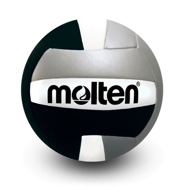 Molten Mini Volleyball Black Silver