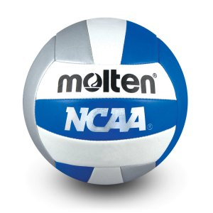 Molten Mini Volleyball Blue Silver