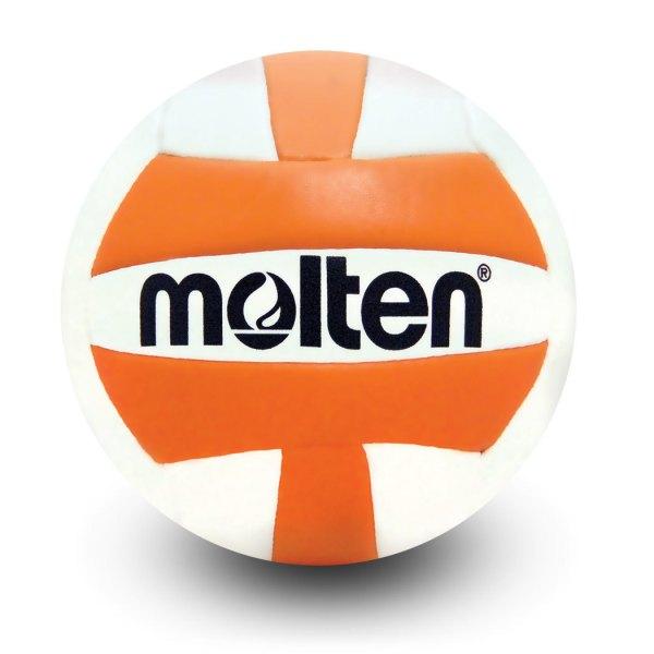 Molten Mini Volleyball Orange White