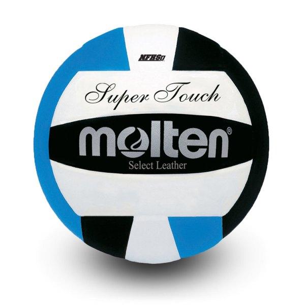 Molten Super Touch Volleyball Black Blue