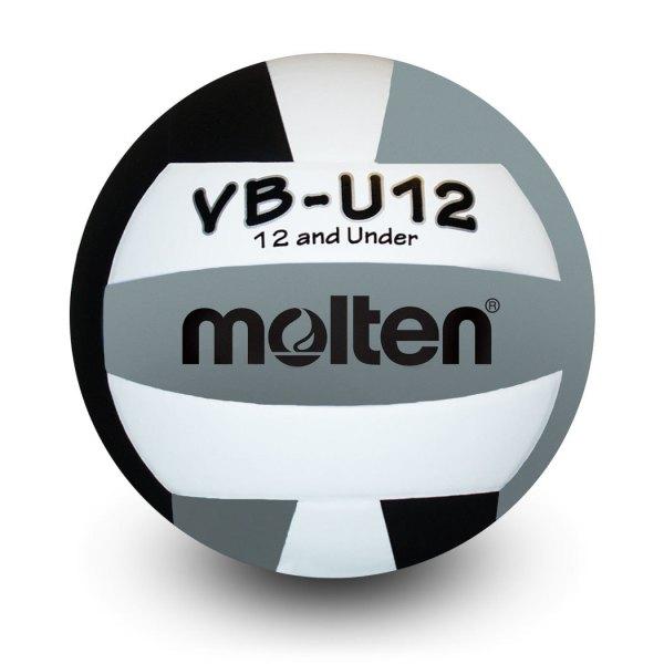 Molten U12 Microfiber Light Ball Black White Silver