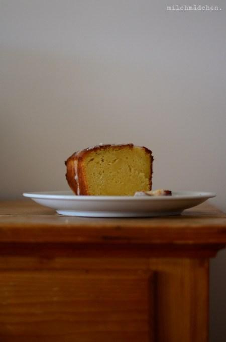 Zitronenkuchen nach Martha Stewart | milchmädchen.