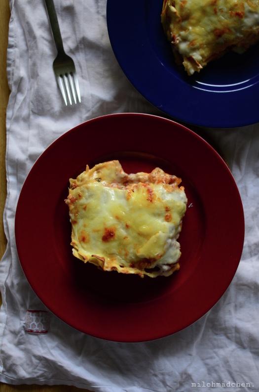 Lasagne mit Schafskäse   milchmädchen.
