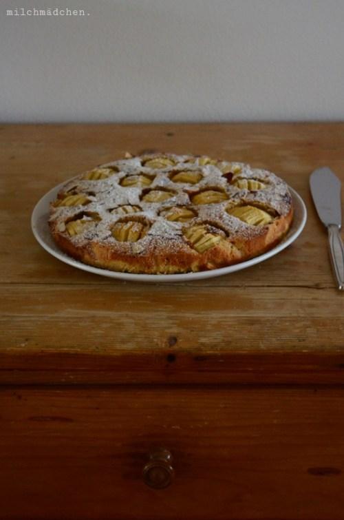 Apfelkuchen nach Johann Lafer | milchmädchen.