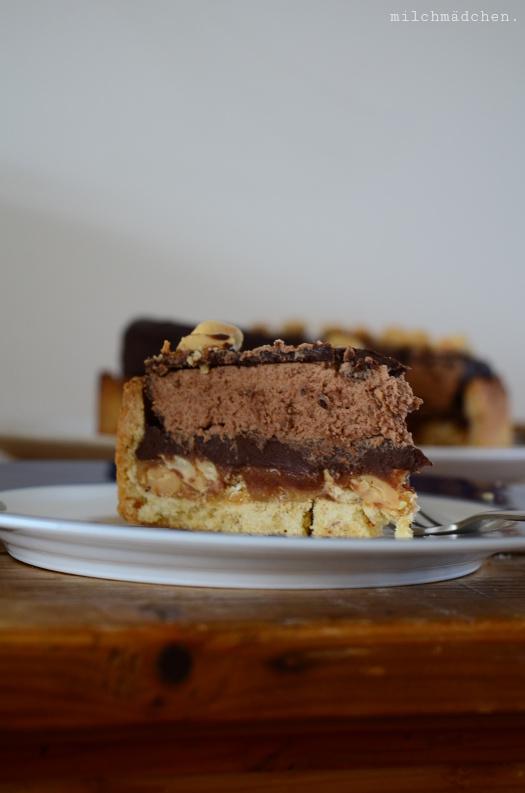 Snickers Tarte | milchmädchen.