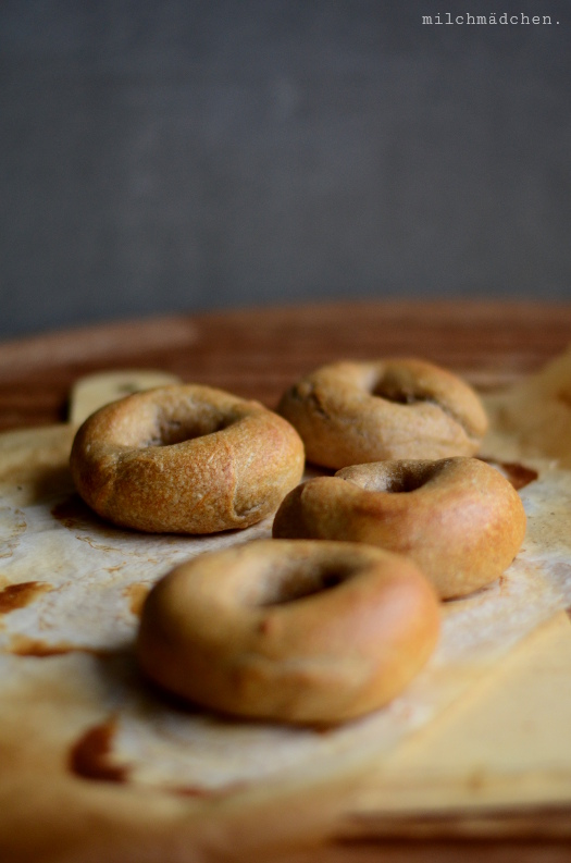 Overnight Double Sourdough Bagels | milchmädchen.