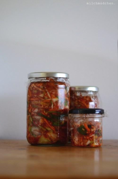Kimchi nach Fräulein Kimchi | milchmädchen.
