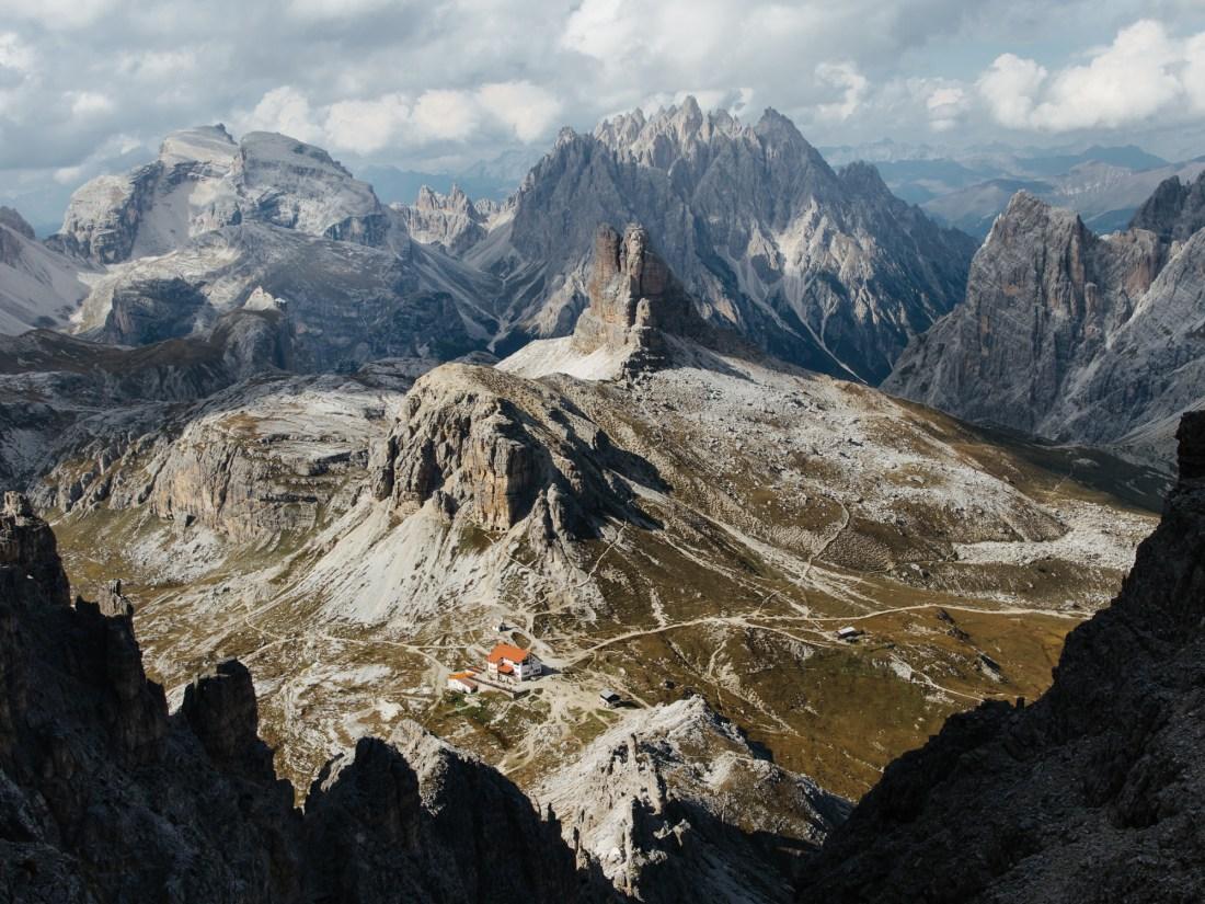 Sexten Dreizinnenhütte