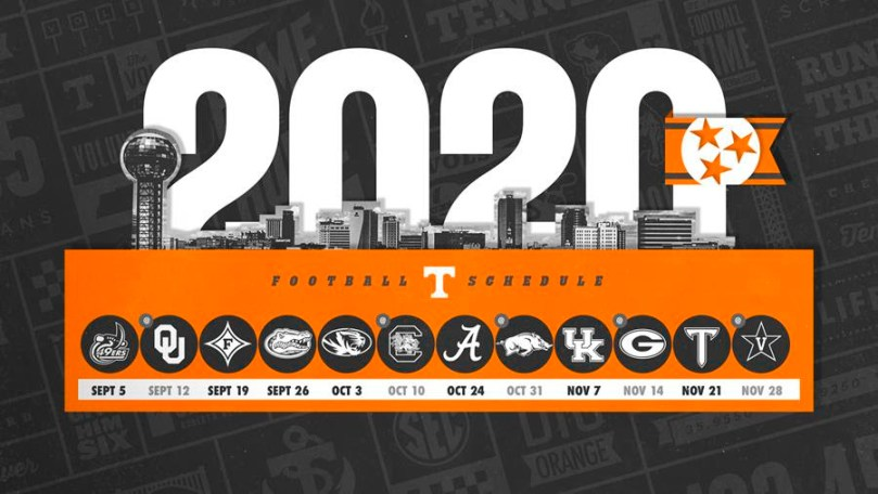 Ut Football 2020 Schedule Tennessee football announces 2020 schedule   FreakNotes