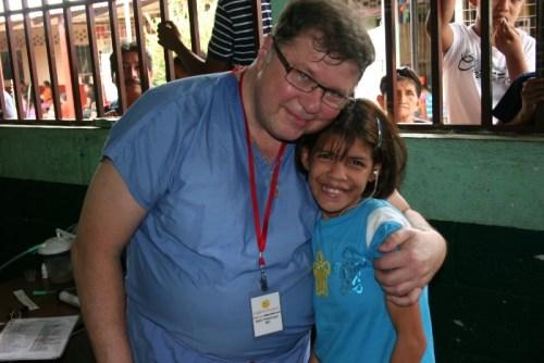 Dr. Hoeplinger and Mariam