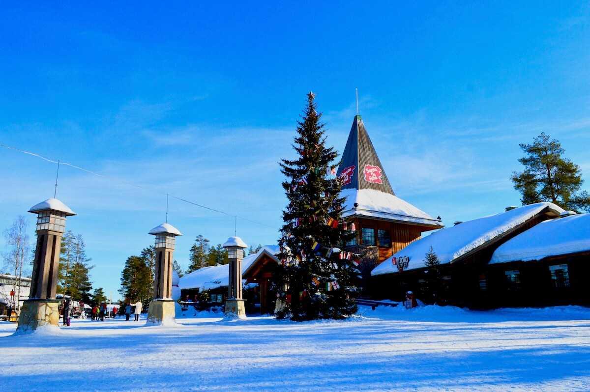 Villaggio di Babbo Natale a Rovaniemi Santa Claus Village in Lapponia  VoloGratisorg