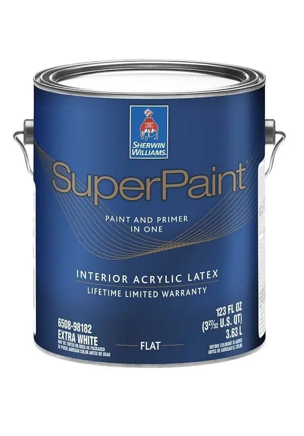 SUPERPAINT INTERIOR ACRYLIC LATEX