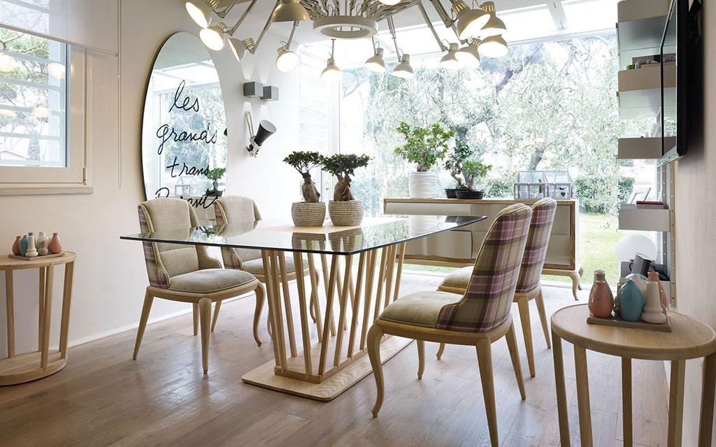 Sala da pranzo moderna  Volpi lo stile in casa