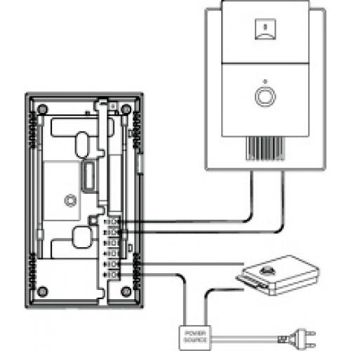 Wiring Video Intercom - Undefined on