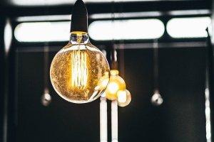 A luminous bulb