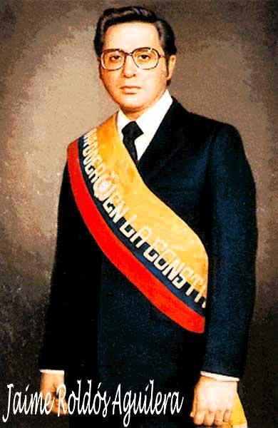 Jaime Roldos, Presiden Ekuador