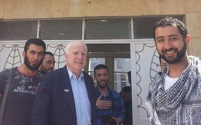 arton178718 7599d 0f04b John McCain, le chef dorchestre du « printemps arabe », et le Calife