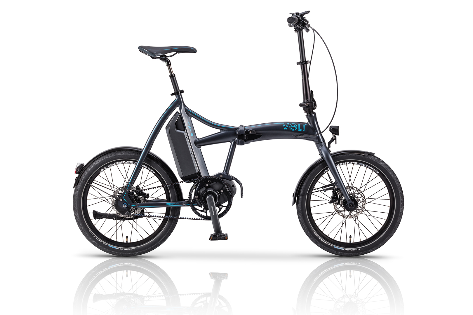 Axis Shimano Steps Folding Electric Bike