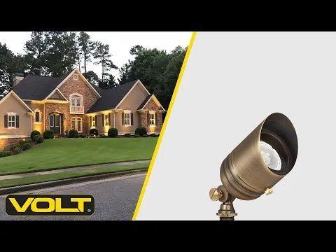 volt g2 fat boy brass spotlight bronze