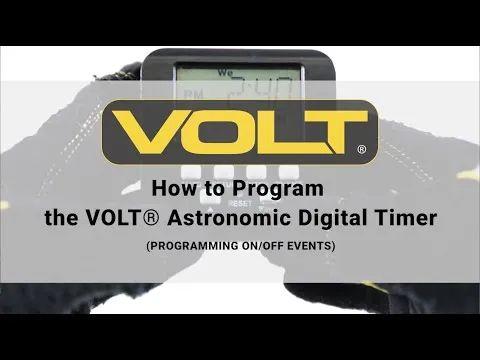 volt g2 astronomic digital timer